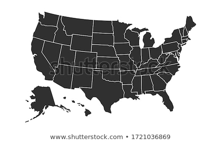 Map of California (United States) stock photo © Schwabenblitz