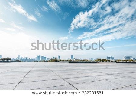 Foto stock: Céu · cidade · escritório