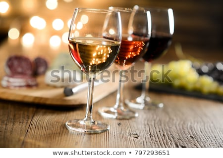 3 glass of wine Stock photo © kornienko