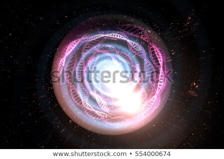 DNS alagút illusztrált fúzió piros citromsárga Stock fotó © nicemonkey