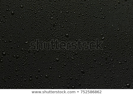 gotas · de · água · metálico · superfície · água · textura · fundo - foto stock © SSilver