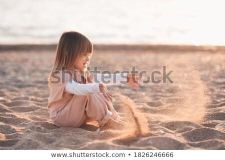пляж Babe изображение расслабляющая небе Сток-фото © dolgachov
