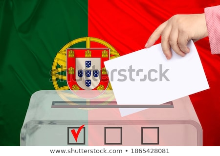 Ballot box Portugal Stock photo © Ustofre9