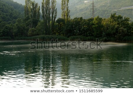 Canyon of Cetina River near Omis, Croatia stock photo © anshar
