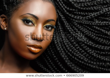 Woman with a Braid Stock photo © luminastock