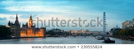 Parlement bâtiment Big Ben panorama Londres ciel Photo stock © AndreyKr
