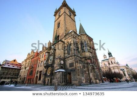 The old town hall in Prague Stock photo © elxeneize