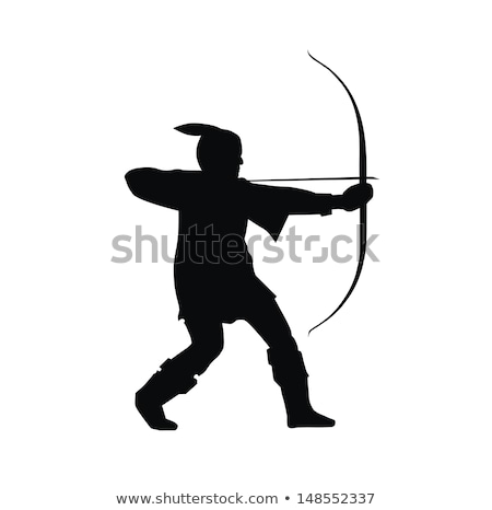 nottinghamshire flag robin hood Stock photo © tony4urban