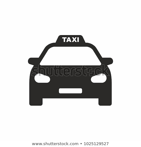 vector icon taxi stock photo © zzve
