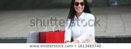 Divatos női portré közelkép káprázatos elbűvölő Stock fotó © Anna_Om