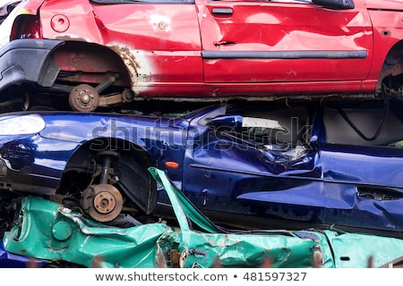 Car Wreckers Yard Stock photo © rghenry