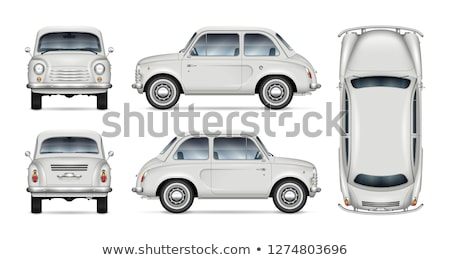 Back of the old car.  Stock photo © Kurhan