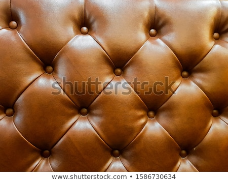 Antique brown leather chair Stock photo © Bumerizz
