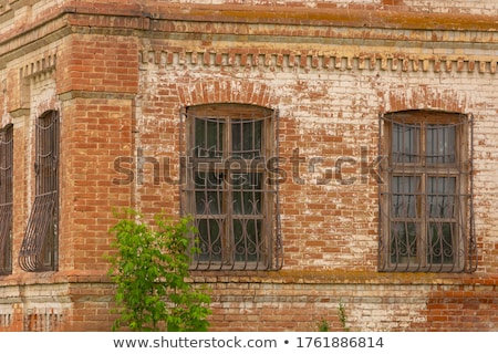 facade of houses from the late 18th century Stock photo © meinzahn