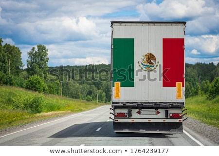 sundown in Mexico Stock photo © prill
