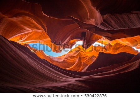 famous Antelope Slot Canyon in Page  Stock photo © meinzahn