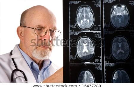 Arts mri hersenen Xray medische technologie Stockfoto © HASLOO