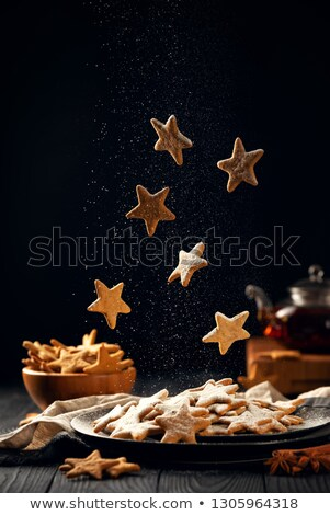 vallen · star · Rood · brand · achtergrond · kunst - stockfoto © nelosa