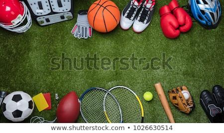 Sport objet ensemble différent golf sport Photo stock © stockshoppe