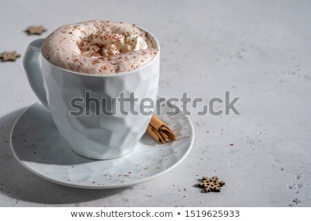 Hot Cocoa with Whip Cream Stock photo © StephanieFrey