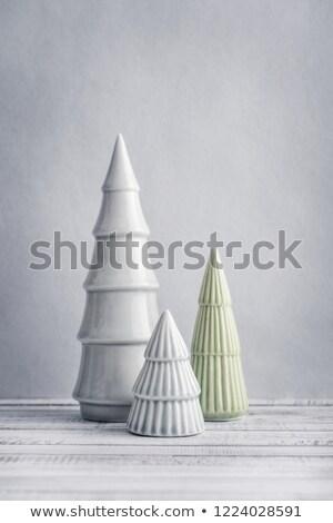 декоративный · керамической · рождественская · елка · лента - Сток-фото © jeliva