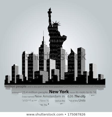Freedom Tower kikötő Manhattan New York New York USA Stock fotó © lunamarina