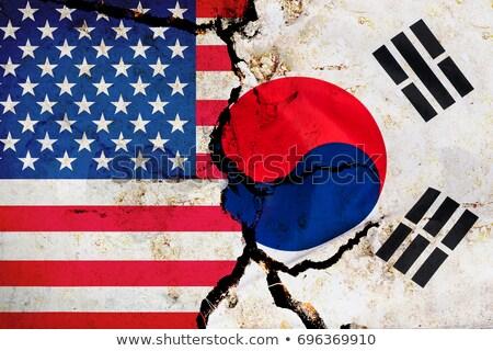 usa south korea Stock photo © tony4urban