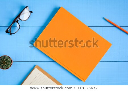 Spectacles In Hardcover Book  Stock photo © dezign56