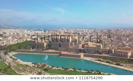 Palma de Mallorca Cathedral de la Seo Majorca Stock photo © lunamarina