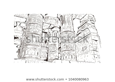 ancient egyptian reliefs stock photo © saransk