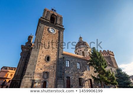 Basílica sicília Itália belo igreja Foto stock © CaptureLight