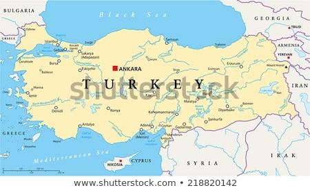 Map of Turkey, Kahramanmaras Stock photo © Istanbul2009