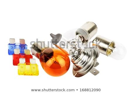 Stock photo: Set beam bulb H7.