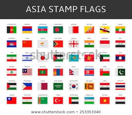 Zászlók puzzle izolált fehér csapat vidék Stock fotó © Istanbul2009