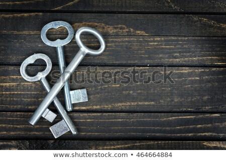 three keys stock photo © shutswis