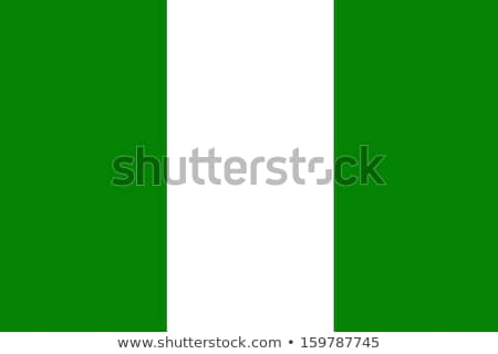 Turchia Nigeria bandiere puzzle isolato bianco Foto d'archivio © Istanbul2009