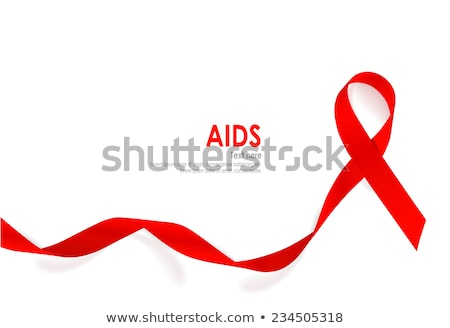 aids awareness red ribbon stock photo © maximmmmum