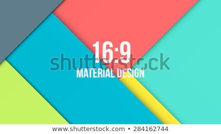 material design vector background stock photo © m_pavlov