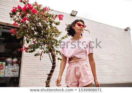 Vrouw borst beha horizontaal Stockfoto © Novic