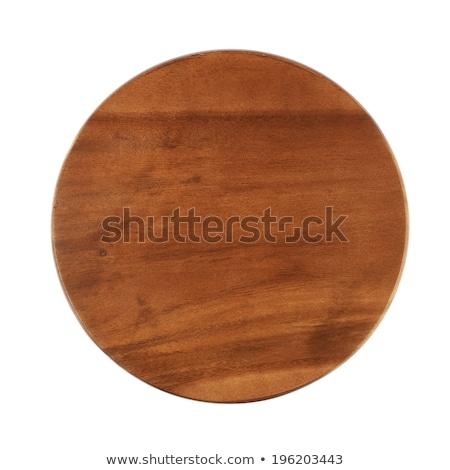 Alimentaire planche à découper détail haut vue bois Photo stock © stevanovicigor