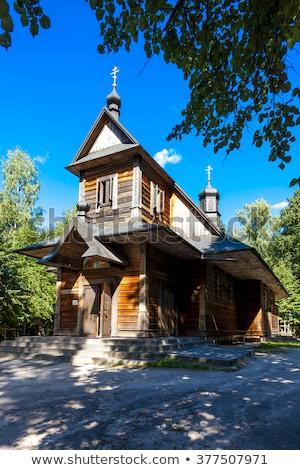 Heilig berg Polen Europa godsdienst geestelijke Stockfoto © phbcz