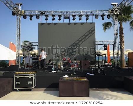 stage setting stock photo © shevs
