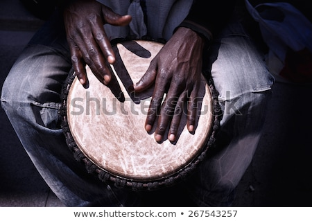 伝統的な アフリカ ドラム ベクトル デザイン 実例 ストックフォト © RAStudio