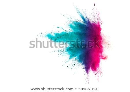 sprey · siyah · mürekkep · sıçrama · vektör · kül - stok fotoğraf © smeagorl