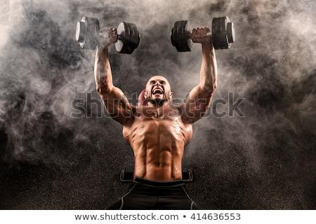 Muscular Men Working Out Stock photo © MilanMarkovic78