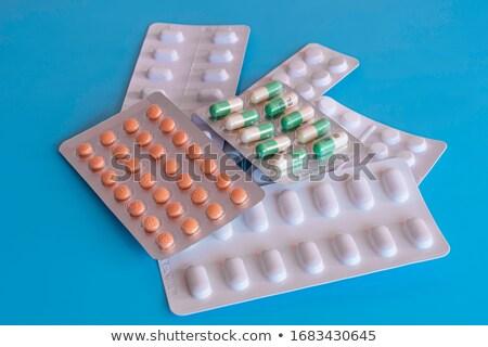 diagnostic · médication · médecine · 3d · illustration · imprimé · rouge - photo stock © lightsource