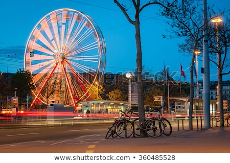 Ferris wheel in Zurich Stock photo © zurijeta
