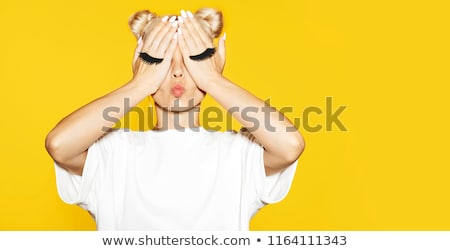 Fake eyelashes Stock photo © coprid