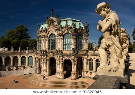 Dresdner Zwinger in Dresden, Germany Stock photo © vladacanon