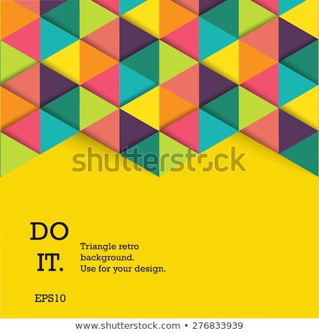 cores · padrão · espectro · cartaz · vetor · projeto - foto stock © SArts